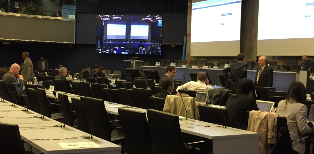ITU会議場