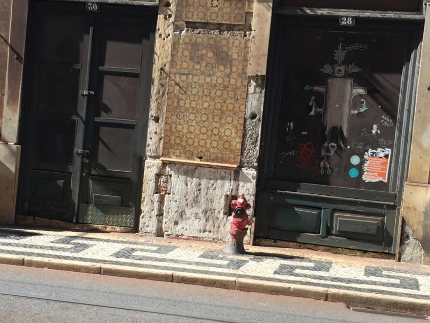 LIS旧市街 モザイクの舗道