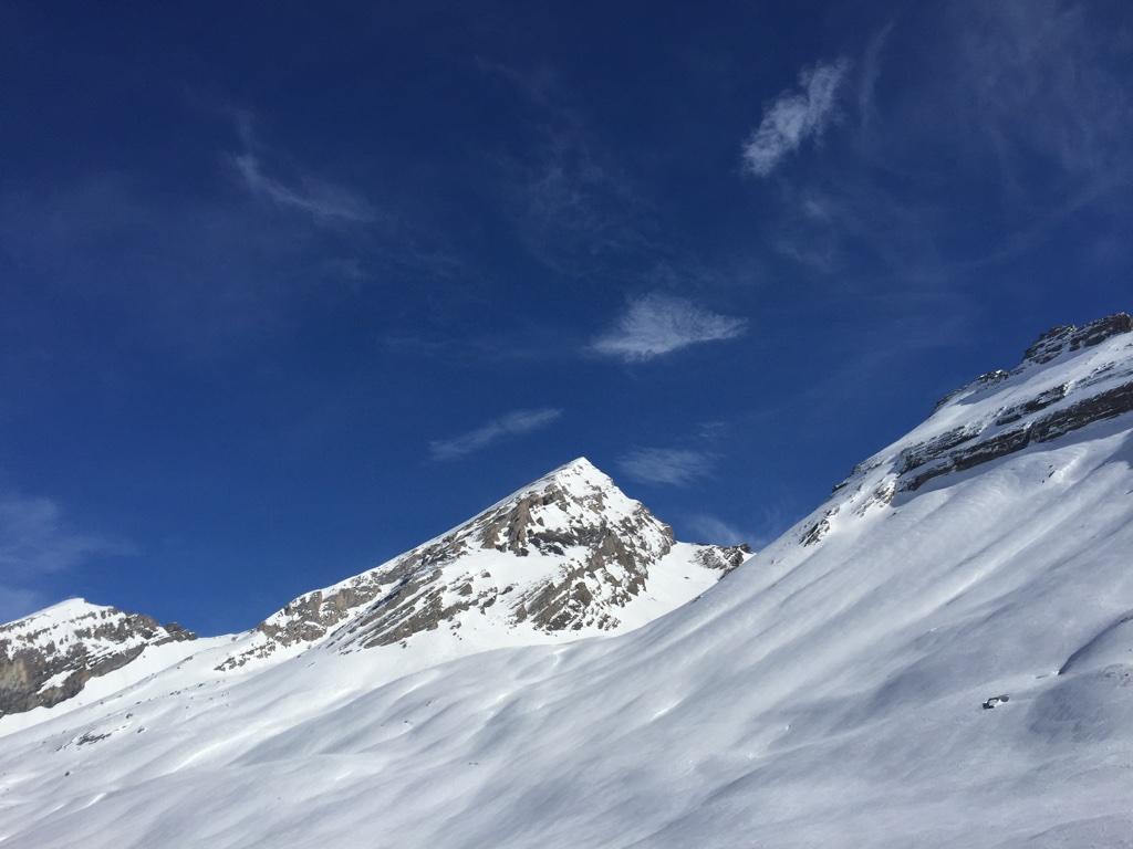 冬のモンブラン